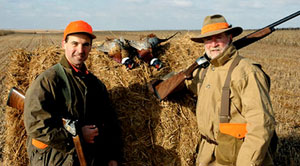 Shooting Sportsman Magazine's Editor in Chief Ralph Stuart and Benelli on Assignment's Joe Coogan