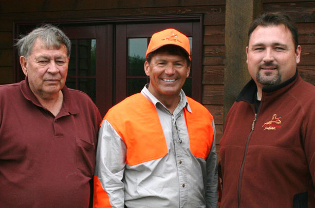 Don and Michael with Senator Mike Rounds